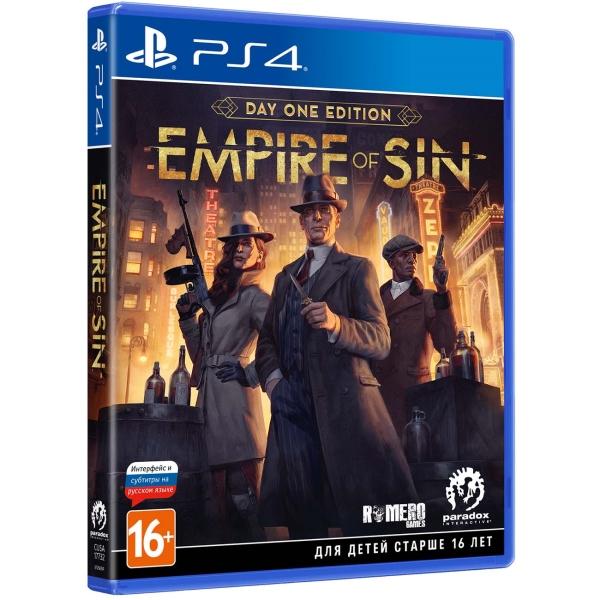 PS4 игра Paradox Interactive Empire of Sin. Издание первого дня