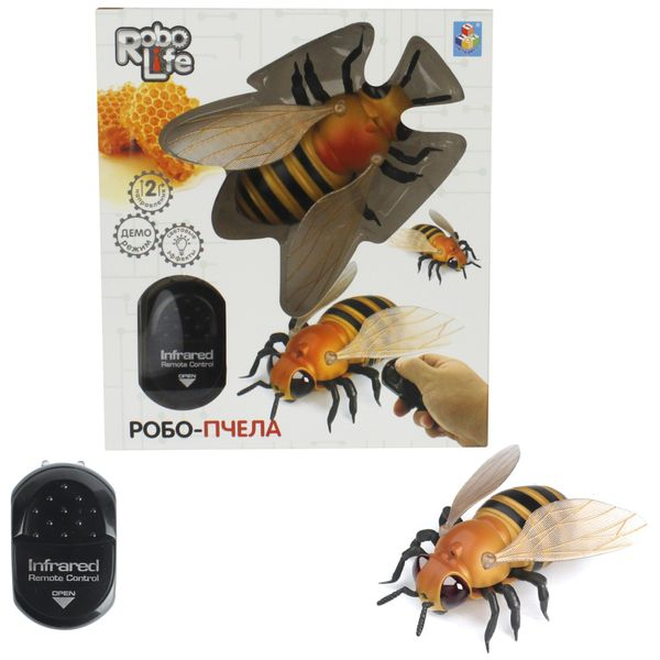 Робот 1toy Т14328 RoboLife: Робо-Пчела на ИК управлении