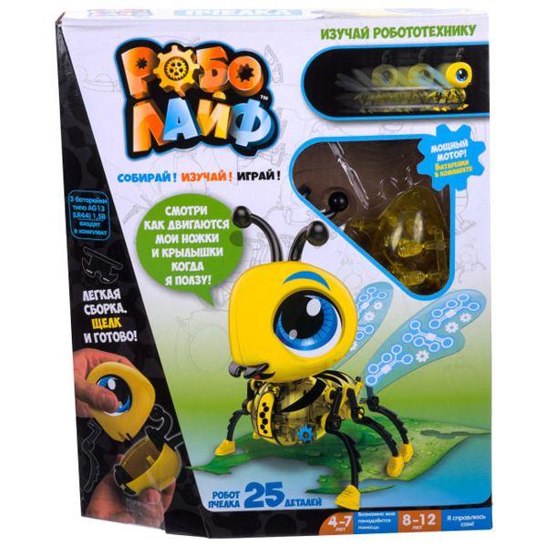 Робот 1toy Т16238 РобоЛайф: Пчелка (модель для сборки)