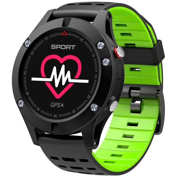 Смарт-часы No.1 F5 Black/Green (NO1F5GR)