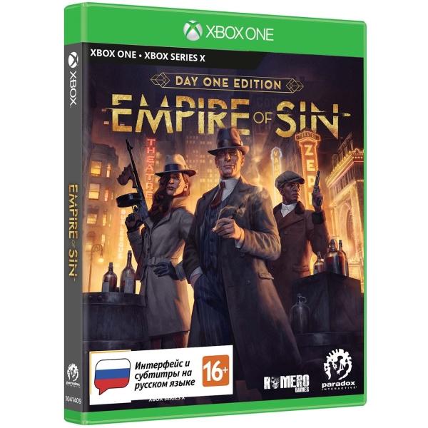 Xbox One игра Paradox Interactive Empire of Sin. Издание первого дня