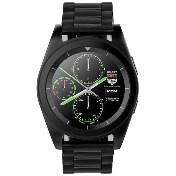Смарт-часы No.1 G6 Black с метал. ремешком (NO1G6BLS)
