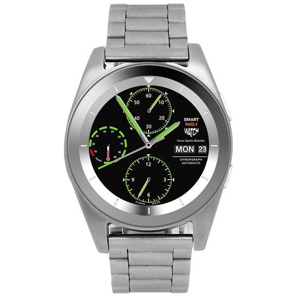 Смарт-часы No.1 G6 Silver с метал. ремешком (NO1G6SS)