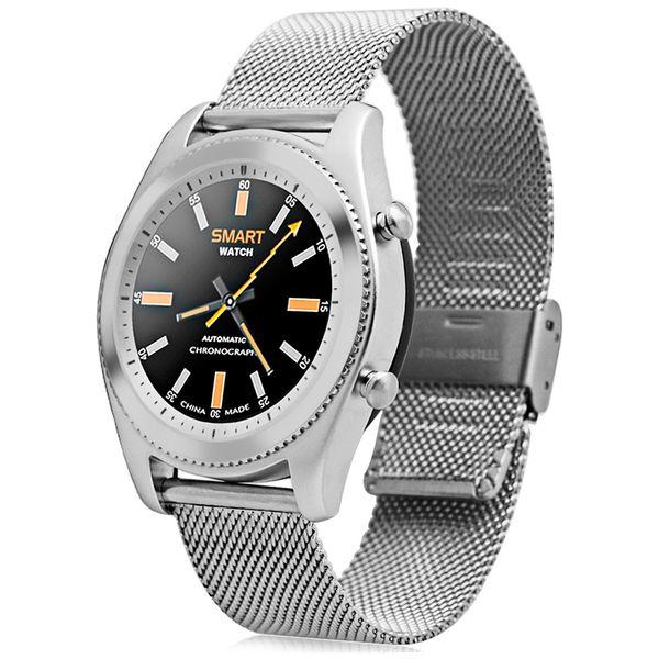 Смарт-часы No.1 S9 Silver с метал. ремешком (NO1S9SS)