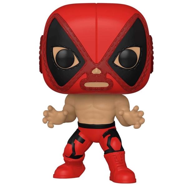 фигурка funko pop rides deadpool deadpool Фигурка Funko POP! Marvel: Luchadores - Deadpool