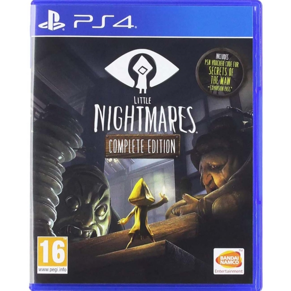 PS4 игра Bandai Namco Little Nightmares. Complete Edition