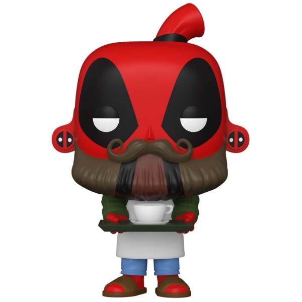 фигурка funko pop deadpool 30th deadpool in cake Фигурка Funko POP! Deadpool 30th: Coffee Barista