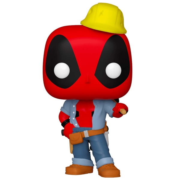 фигурка funko pop deadpool 30th deadpool in cake Фигурка Funko POP! Deadpool 30th: Construction Worker