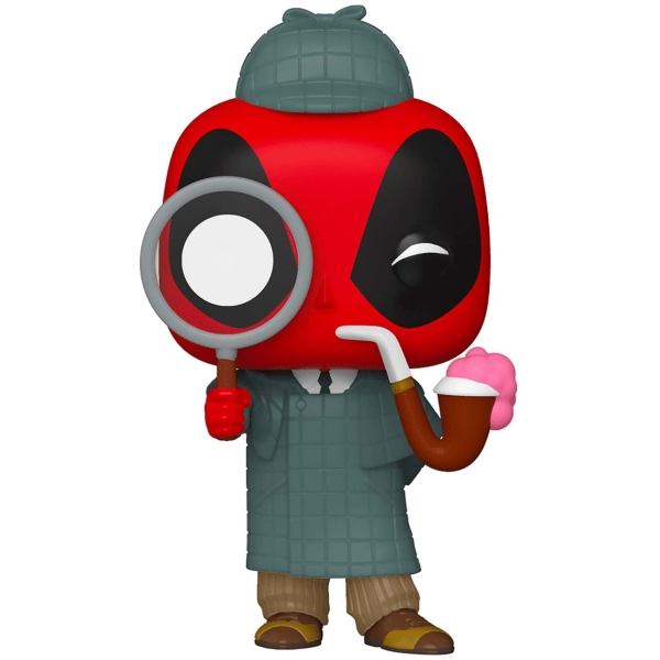 фигурка funko pop deadpool 30th deadpool in cake Фигурка Funko POP! Deadpool 30th: Sherlock Deadpool