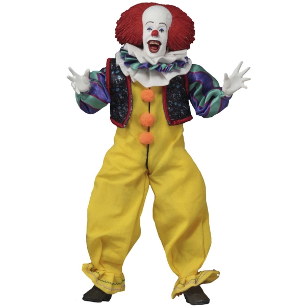 18cm deluxe edition clown action figure neca shf it pennywise figures it model collection return soul 1990 halloween gift 10y05 Фигурка Neca IT - Pennywise (1990 Movie)