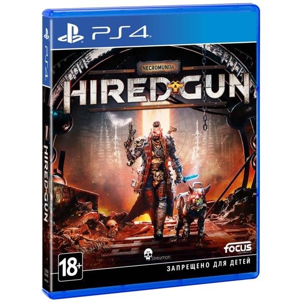 PS4 игра Focus Home Necromunda: Hired Gun. Стандартное издание