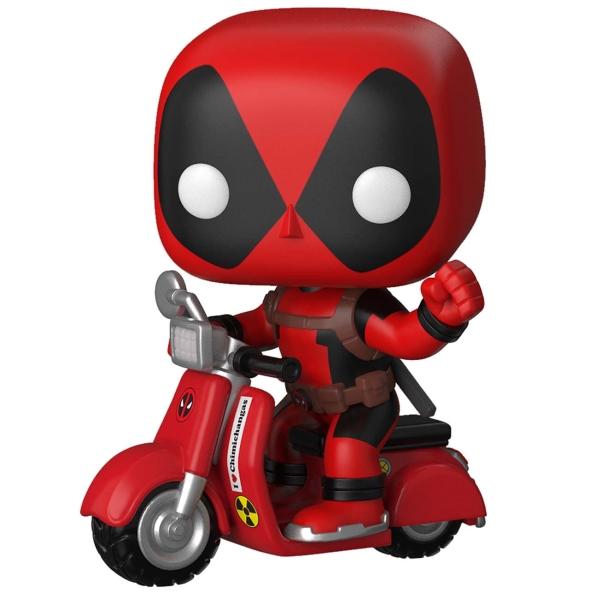 фигурка funko pop rides deadpool deadpool Фигурка Funko POP! Rides: Deadpool - Deadpool & Scooter