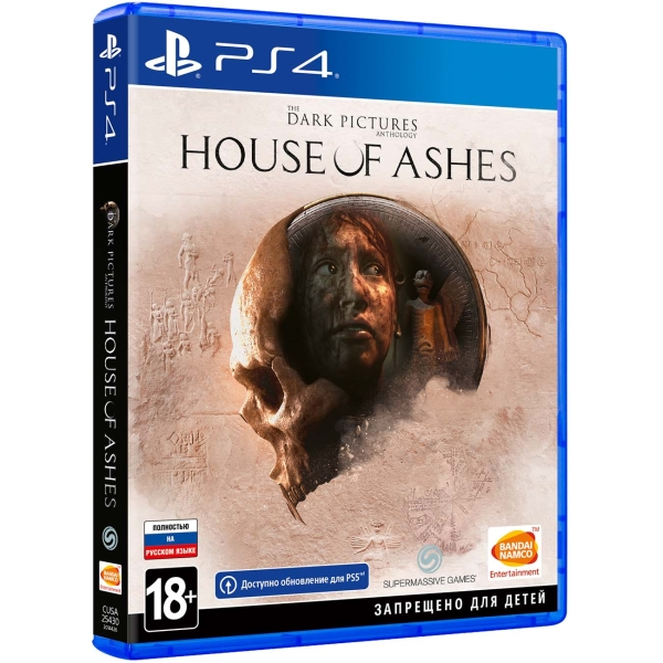 PS4 игра Bandai Namco The Dark Pictures: House of Ashes