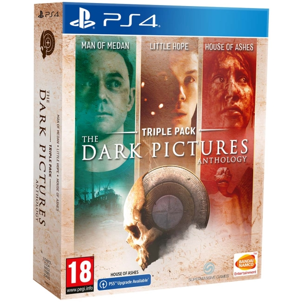 PS4 игра Bandai Namco The Dark Pictures. Triple Pack