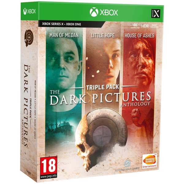 Xbox One игра Bandai Namco The Dark Pictures. Triple Pack