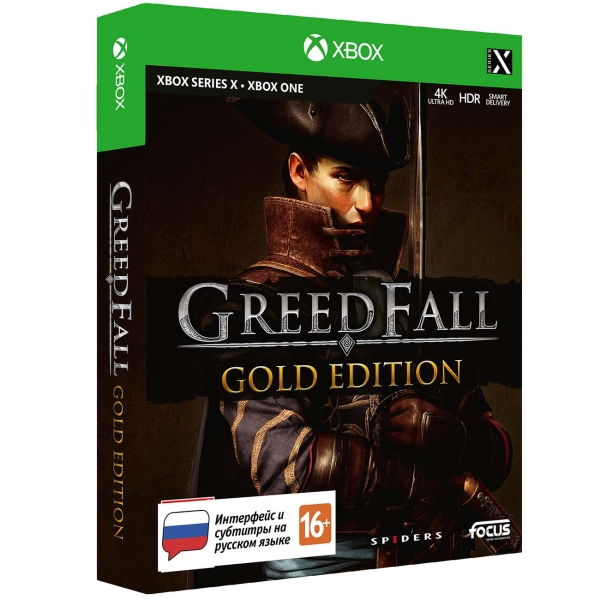Focus Home GreedFall. Gold Edition