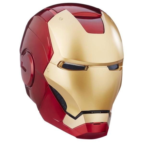 marvel wearable iron man mk5 voice activated deformation helmet Сувенир Hasbro Iron Man Electronic Helmet