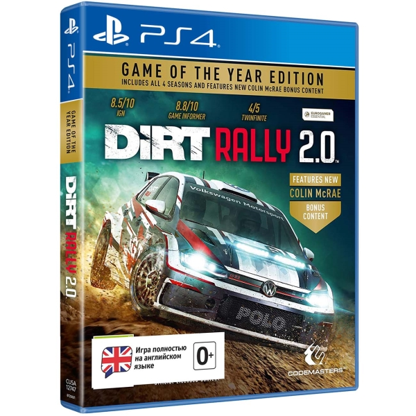 Deep Silver Dirt Rally 2.0 - Game of the Year Edition