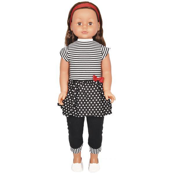 Кукла Lotus Onda 35001/6 в черно-белом костюме (86см)
