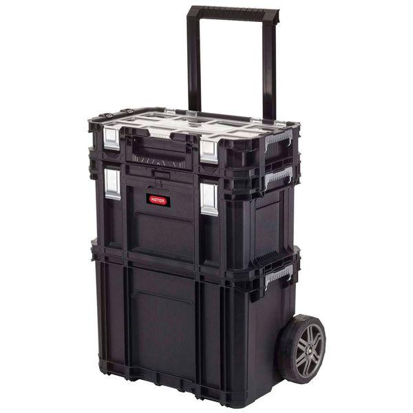 Ящик для хранения инструмента Keter Smart Rolling WorkShop Set (17203038)
