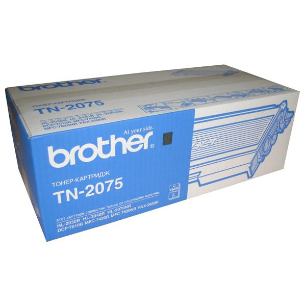 Brother, Картридж для лазерного принтера, TN-2075