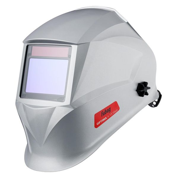 Маска для сварки Fubag Optima 4-13 Visor Silver (38439) хамелеон