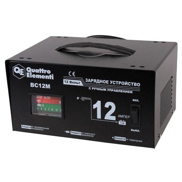 Автомобильное зарядное устройство Quattro Elementi BC12M (770-094)