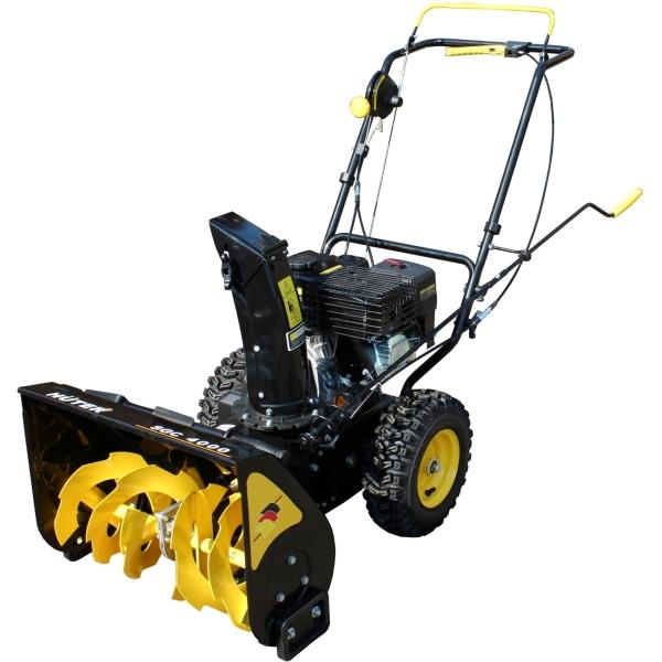 Снегоуборщик бензиновый Huter 70/7/5 (SGC 4000) цвет черный/желтый