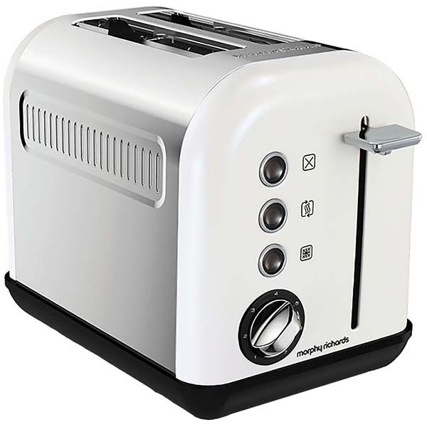 Тостер Morphy Richards Accents White SS 2 Slice (222012EE) фото