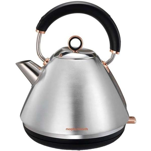 Электрочайник Morphy Richards Accents Pyramid Rose Gold and Brushed (102105EE) фото