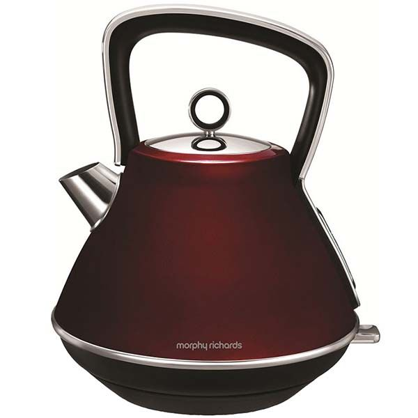 Электрочайник Morphy Richards Evoke Pyramid Red (100108EE) фото