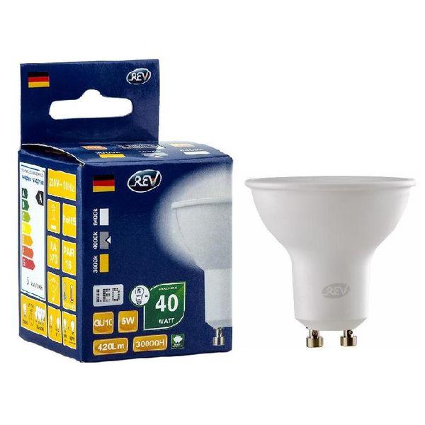 Лампа REV Ritter 32329 7 PAR16 GU10 5W 4000K
