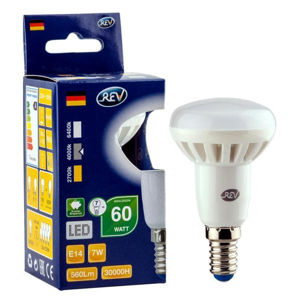 Лампа REV Ritter 32364 8 7Вт E14 600лм 4000К