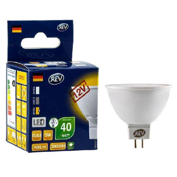 Лампа REV Ritter 32371 6 5Вт GU5.3 420лм 3000К