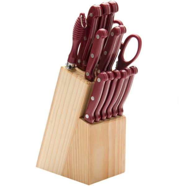 Набор кухонных ножей Mayer&Boch 24253 (15 предметов)