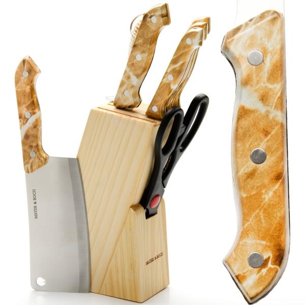 Набор кухонных ножей Mayer&Boch 480 (8 предметов)