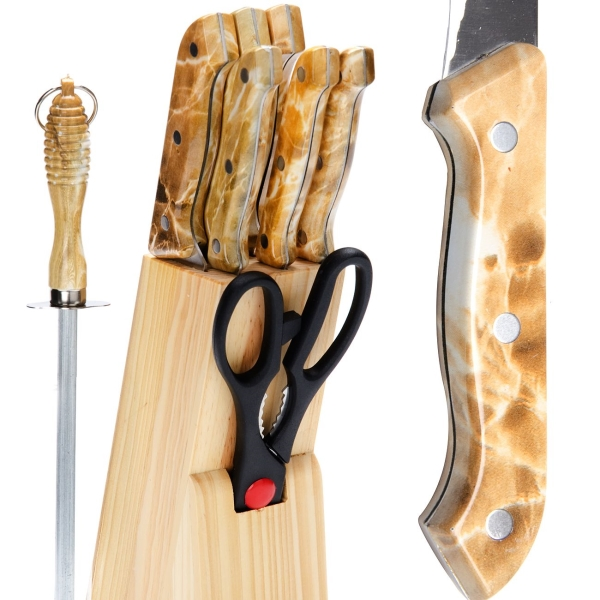 Набор кухонных ножей Mayer&Boch 485 (9 предметов)