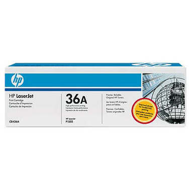 Картридж для лазерного принтера HP 36A (CB436A) lcl cb436a 436a cb436 436 36a 36 4 pack black toner cartridge compatible for hp p1503 p1504 p1505 p1506 p1503n p1504n