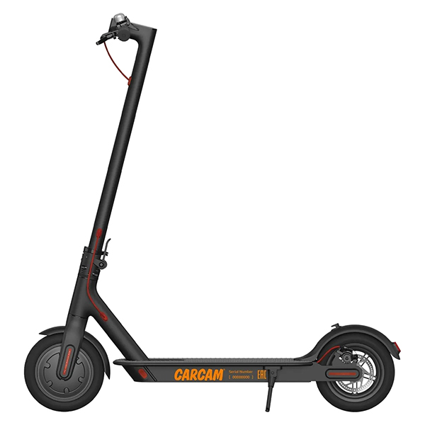 CARCAM ELECTRIC SCOOTER BLACK