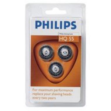 Режущий блок для электробритвы Philips HQ55/40 - характеристики, техническое описание в интернет-магазине М.Видео - Москва - Москва