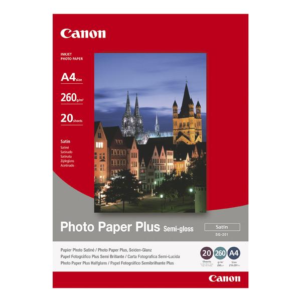 Canon, Фотобумага для принтера, SG-201 1686B021