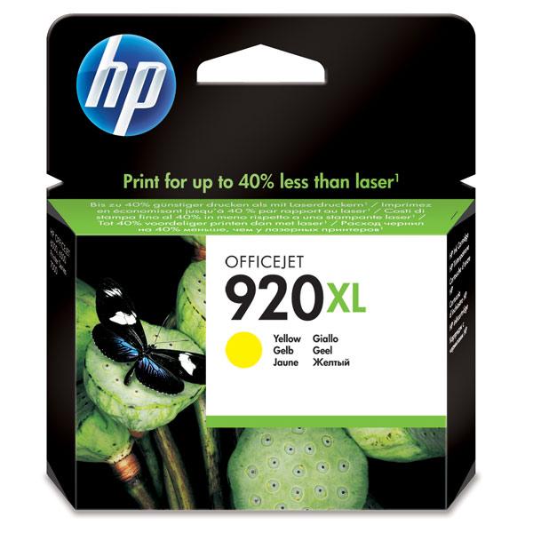 Картридж для струйного принтера HP 920XL Yellow (CD974AE) картридж для принтера hp 90 c5065a yellow