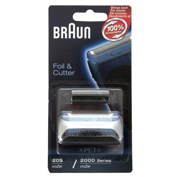 Сетка и режущий блок для электробритвы Braun CruZer 20S
