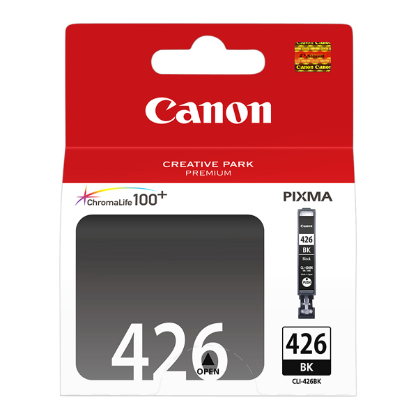Картридж для струйного принтера Canon CLI-426BK Black картридж colouring cg cli 426bk black для canon ip4840 mg5140 mg5240 mg6140 mg8140