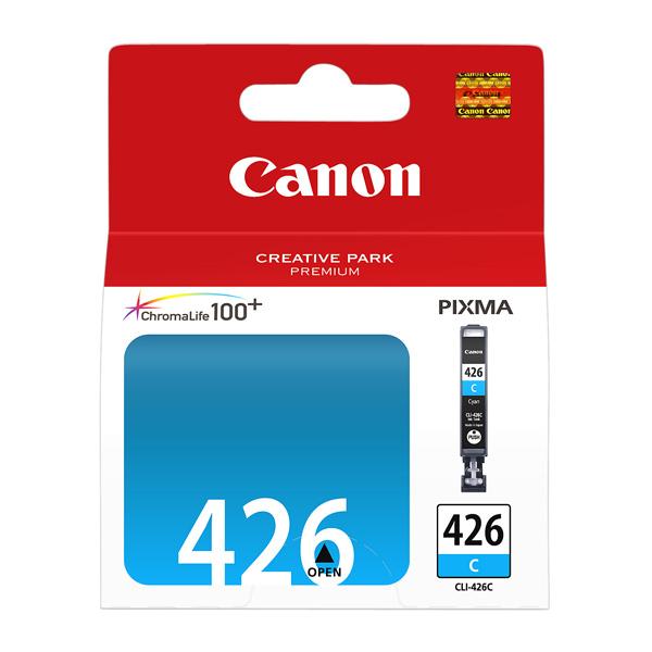 Canon, Картридж для струйного принтера, CLI-426C Cyan