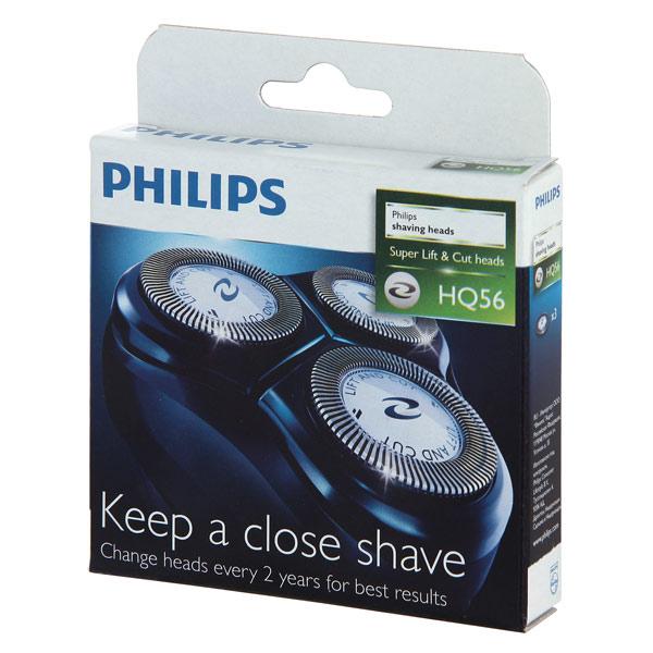 Бритвенные головки для электробритвы Philips HQ56
