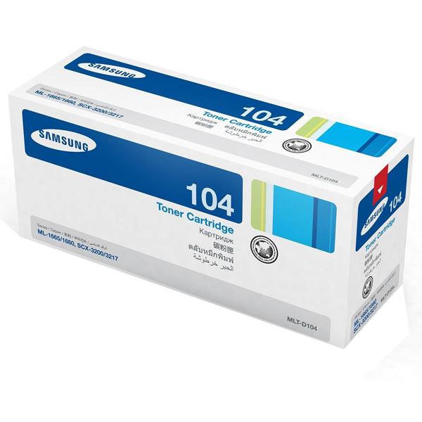 Картридж для лазерного принтера Samsung MLT-D104X/SEE картридж samsung mlt d104x черный [su754a]