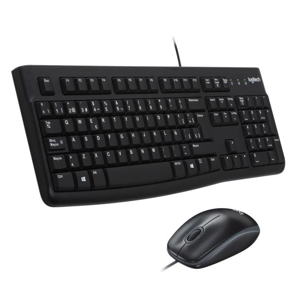 Комплект клавиатура+мышь Logitech MK120 (920-002561) мыши genius проводная оптическая мышь dx 130