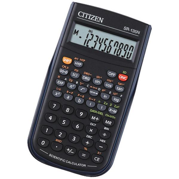 Инструкция калькулятор ситизен sr 135