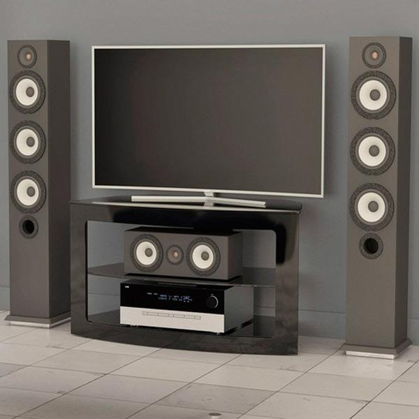 АКМА, Подставка для телевизора, V3-610MOL Black